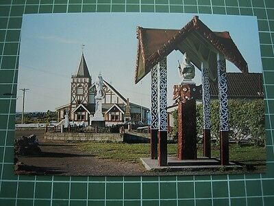 1980's  POSTCARD - ST FAITHS CHURCH OHINEMUTU NEW ZEALAND - ColorView CB46 NEW