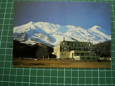 1980's  POSTCARD - THE CHATEAU - MT RUAPEHU- NEW ZEALAND - FourColor FCV56 NEW