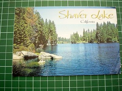 POSTCARD - SHAVER LAKE CALIFORNIA USA - Colorscope Photo Prints S-830- UNUSED