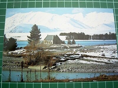 1980's - POSTCARD - CHURCH OF GOOD SHEPHERD LAKE TEKAPO  NEW ZEALAND - NEW