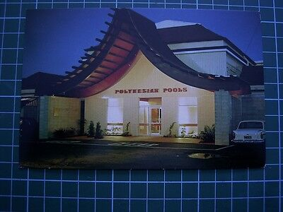 1970's POSTCARD - Entrance POLYNESIAN POOLS - ROTORUA - NEW ZEALAND - USED