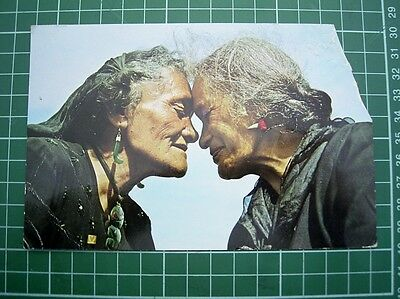 1960's POSTCARD - MAORI GREETING - NEW ZEALAND - USED