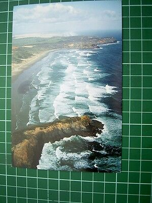 1980's - POSTCARD - VIEW OF CAPE REINGA NEW ZEALAND - colour view J/N333 - NEW