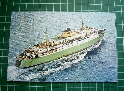 1960's POSTCARD - G.M.V. ARAMONANA Ferry - AUCKLAND - NEW ZEALAND - USED