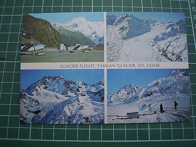 1980's  POSTCARD - Glacier Flight MT COOK - NEW ZEALAND - ColorView CM9082 NEW