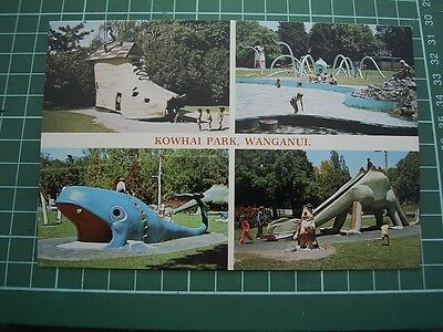 1980's  POSTCARD - KOWHAI PARK - WANGANUI - NEW ZEALAND -COLOURVIEW WP9113 - NEW