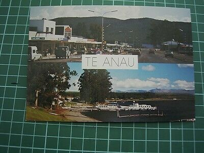 1980's  POSTCARD - Scenes of TE ANAU - NEW ZEALAND - NEW