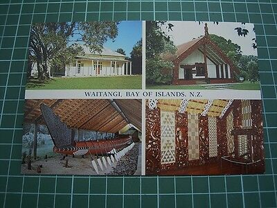 1980's  POSTCARD - WAITANGI - BAY OF ISLANDS  NEW ZEALAND - ColorView BI9147 NEW