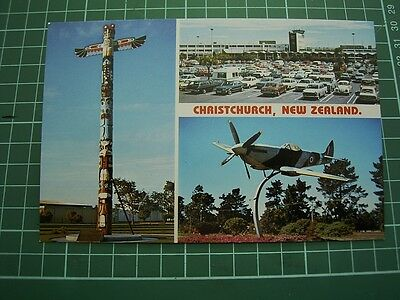 1980's  POSTCARD - views of CHRISTCHURCH -  NEW ZEALAND  ColorView CC9182 NEW