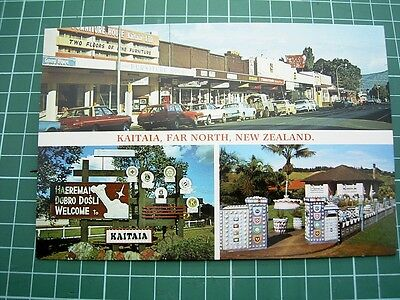 1980's  POSTCARD - KAITAIA - Far North - NEW ZEALAND- ColorView NU9160 NEW