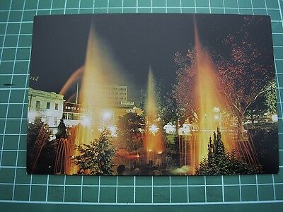 1980's  POSTCARD - STAR FOUNTAIN - DUNEDIN -  NEW ZEALAND  ColorView DO1512 NEW