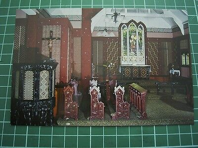 1980's  POSTCARD - ST FAITHS CHURCH OHINEMUTU NEW ZEALAND - ColorView CB16 NEW