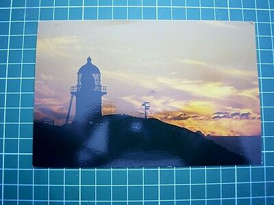 POSTCARD SUNSET AT CAPE REINGA - Pmk 4 Mar 1985 at Cape Reinga NEW ZEALAND