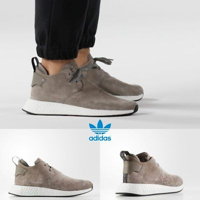 6ac2fefcd Adidas Original NMD C2 Chukka Sneakers Running Shoes Brown White BY9913 SZ  4-11