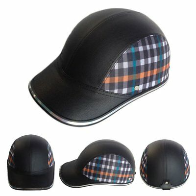 Motor Horse Racing Bike Scooter Half Helmet Baseball Cap Safety Hard Hat AU