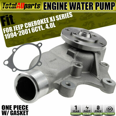 Water Pump w/ Gasket for Jeep Cherokee XJ Series 1994-2001 6Cyl. 4.0L Petrol