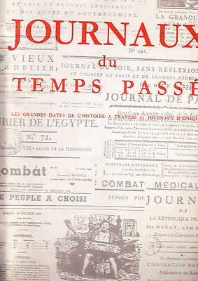 C1 Rossel JOURNAUX TEMPS PASSE Yeux Ouverts 1966 COMPLET 3 Tomes FAC SIMILES