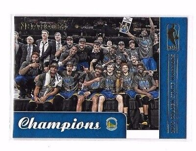 2015-16 Hoops Champions #83 Golden State Warriors SP CHAMPIONS