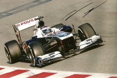 Valtteri Bottas F1 WILLIAMS 2013 autograph, In-Person signed photo