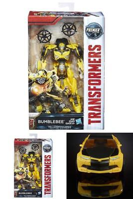 Transformers The Last Knight Premier Edition Deluxe Bumblebee Figure Age 8 Up