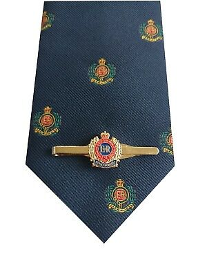 Royal Corps of Engineers Tie & Tie Clip Set p299