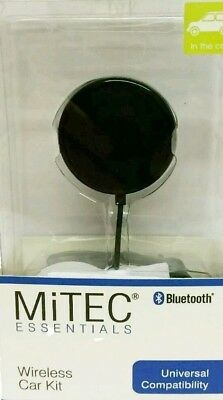 New Mitec Essentials Bluetooth Universal Wireless Car Kit With Charger