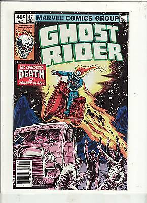 Ghost Rider #42 Vf/nm