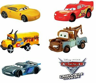 Disney Bullyland Bully Cars 3 Serie 5 Personaggi Set 5 Figures From Movie 2017