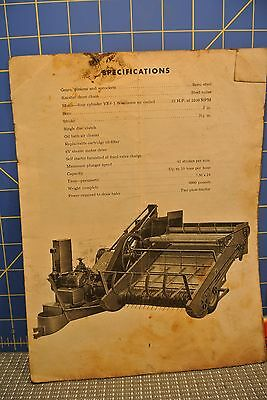 New Holland Antique Baler Owners Manual