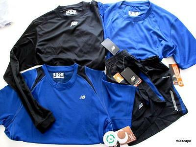 NEW BALANCE Mens Athletic Wear Lot of 4 ~ SAMPLE SALE ~ Shorts and Tops ALL NWT!