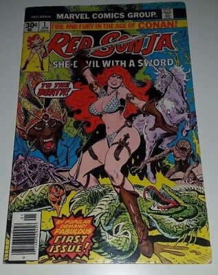 Red Sonja #1 - Bronze Age Classic  30 Cent Cover S/H Special