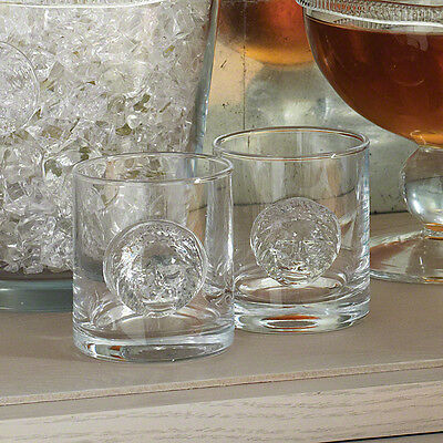 Set 8 Lion Head Drinking Glasses | Double Old Fashioned Bar Tabletop