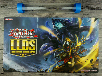 YuGiOh 2017 LLDS Old Entity Hastorr Cusom Playmat TCG Mat Free high quality Tube