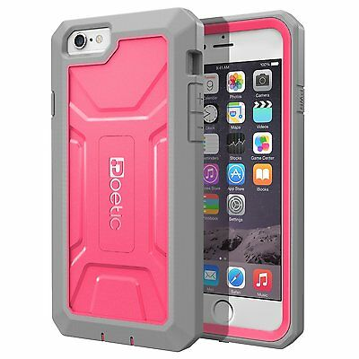 Poetic Revolution【Heavy Duty】Protection Case For iPhone 6 Plus / 6S Plus Pink