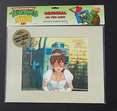 TMNT animation cel of Irma  Teenage Mutant Ninja Turtles
