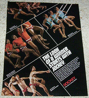 1978 print ad - Jockey mens Fashion underwear Jim Palmer SEXY GUY vintage  ADVERT 95d73e826