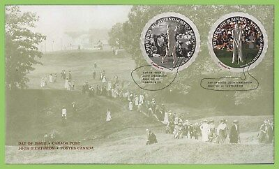 Canada 2004 Canadian Open Golf Championship set on First Day Cover