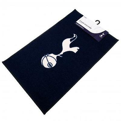 Tottenham Hotspur FC Official Crested Bedroom Rug / Mat Size 80cm x 50cm