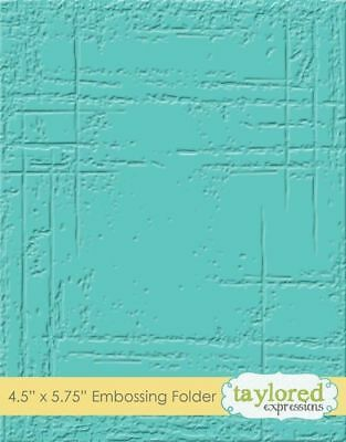 Taylored Expressions WEATHERED - Embossing Folder, Prägeschablone, TEEF31