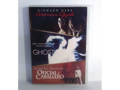 American Gigolo - Ghost - Oficial Y Caballero - Dvd - (Ex/Nm - Ex/Nm)