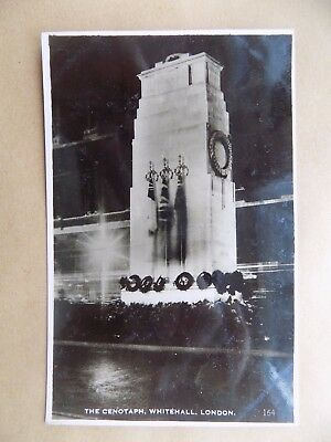 The Cenotaph War Memorial Whitehall London Vintage Old Unposted Postcard c