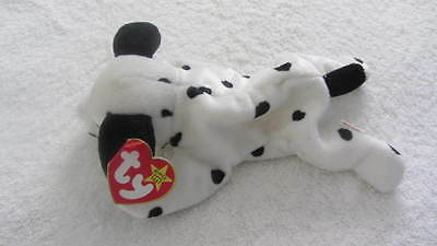 Ty Beanie Baby ~ DOTTY the Dalmatian Dog ~ MINT with MINT TAGS ~ RETIRED