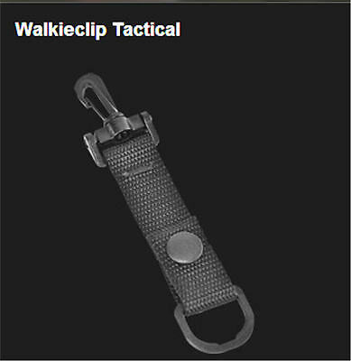 Police Officer Clipping Walkie Clip that Attaches to Uniform for Radio, Light...