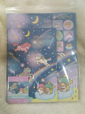 Little Twin Stars Letter Set  Made in Japan