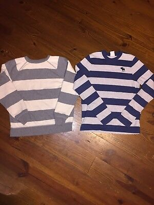 boys abercrombie long sleeve and gap stripped size XL