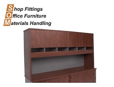 Rapidline Rapid Manager Hutch Appletree Ironstone Office Furniture