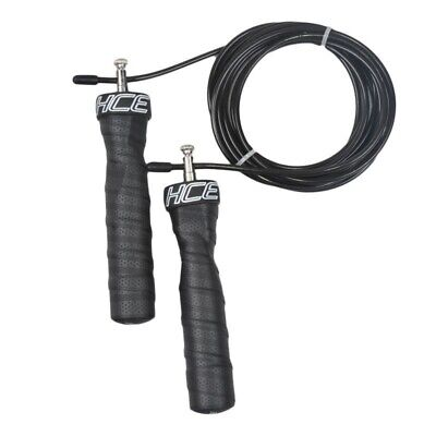 NEW Adjustable Boxing Skipping Jump Rope Crossfit Fitness Gym Exercise Equipment