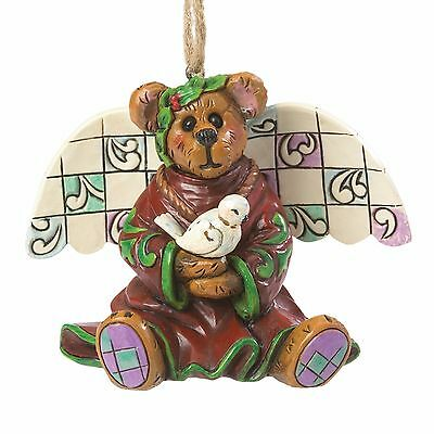 Boyds Jim Shore Peace Angel Stone Resin Collectible Hanging Ornament NWT 2.5in H