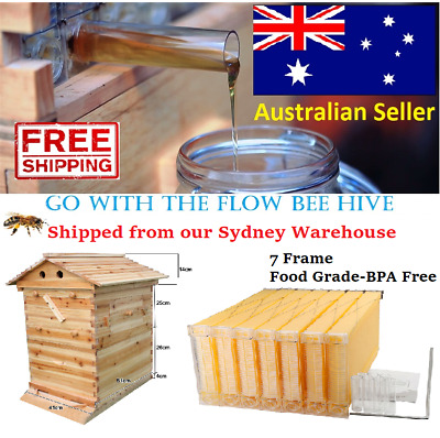 Go with the Flow Bee Hive 7 Auto Frame *FAST DELIVERY Honey Beekeeping Beehive