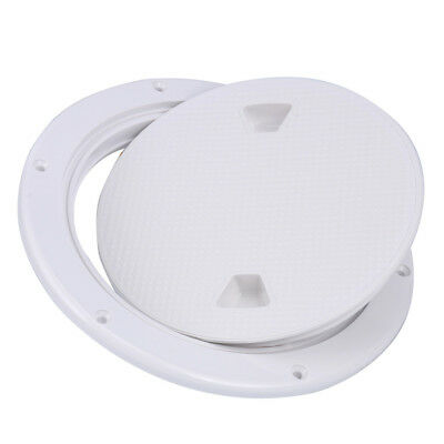 """【Ships from CA】AM 8"""" Boat Round Non Slip Inspection Hatch Detachable Cover 250mm"""